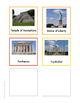 Continent Animal Cards, World Landmarks (colored border)