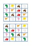 Continent Bingo