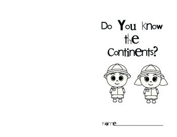 Continent Booklet