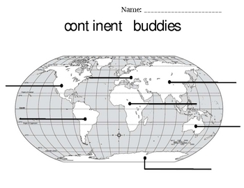 Continent Buddies- Quick Partner Strategy