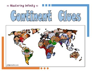 Continent Clues Game (FREE)