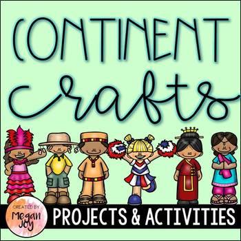 Continent Craftivities