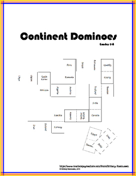 Continent Dominoes