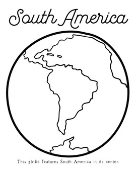 Earth Day Activity ALL 7 Continents Globes Montessori