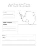 Continent Information Gathering Form-Antarctica