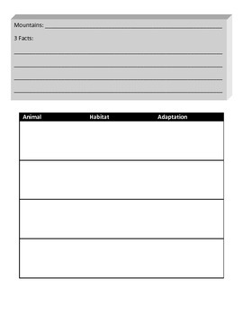 Continent Information Gathering Forms