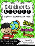 Continent Lapbook Bundle