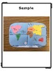 Continent Map - Review, Tear Art Map Project, and Assessment