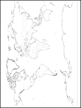Continent Map and World Map Color Sheets. Worksheets. Geography Curriculum.