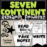 Continent Research Project - Passages to Read, Take Notes, & Write