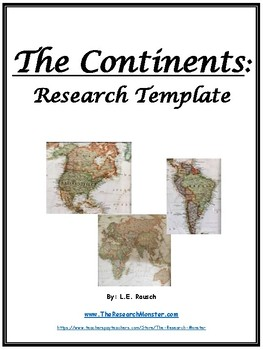 Continent Research Template