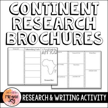 Continent Research Brochures