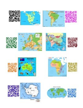 Continent Research with QR Codes