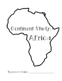 Continent Study: Africa
