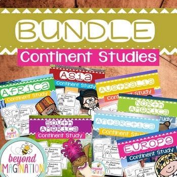 *Continent Study Bundle {7 Countries Save $5.50!)