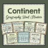 Continent Unit Studies From Around the World