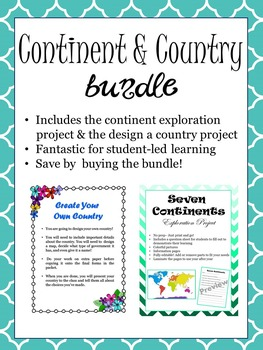 Continent and Country Bundle