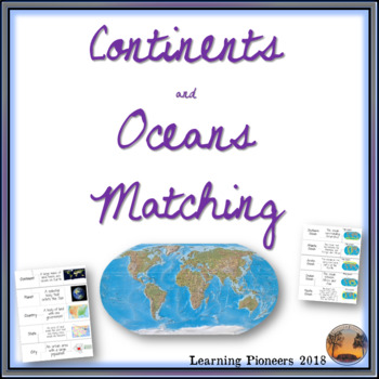 Continent and Ocean Matching