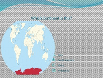Continent and Ocean Review