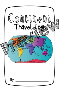 Continents Integrated Unit: K-2 Note-taking, Research, Writing, and Presenting