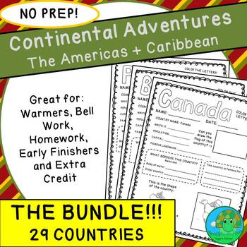 Continental Adventures The Americas and Caribbean THE BUNDLE