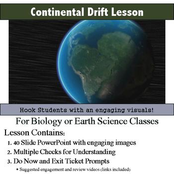Continental Drift Lesson
