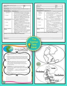 Continental Drift Lesson (Presentation, notes, and activity)- Earth Science Unit