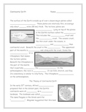 Continental Drift Note Taking Guide