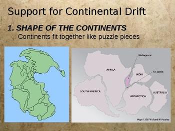 Continental Drift Power Point