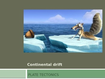 Continental Drift PowerPoint Presentation