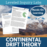 Continental Drift Theory Inquiry Labs