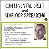 Continental Drift and Seafloor Spreading