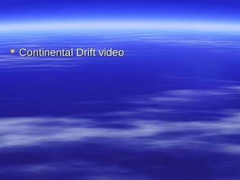 Continental Drift/Pangea