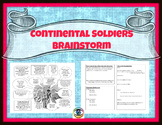 Continental Soldiers Brainstorm
