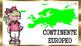 Continentes y Banderas Para Niños Imprimir