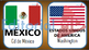Continentes y Banderas para Niños para Imprimir