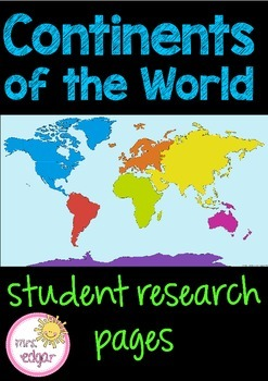 Continents Research Pages