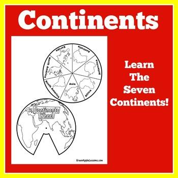 Continents Craft Activity