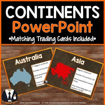 Continents PowerPoint
