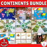 Continents Activities Montessori Pack