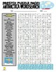 Continents : Antarctica Puzzle Page (Wordsearch and Criss-Cross)