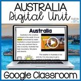 Continents: Australia Digital Distance Learning GOOGLE Unit
