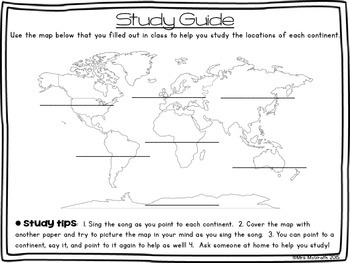 Continents! Standards Aligned Grade 2 Geography 2.1 Locate Continents