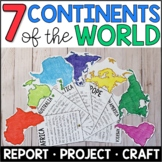 Continents: Fact Fan Research Project