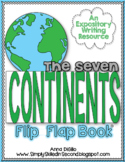 The 7 Continents Flip Flap Book®   Distance Learning