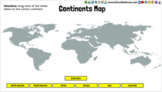 Continents Google Slides Map Activity for Google Classroom