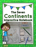 Continents Interactive Notebook: Exploring The Seven Continents