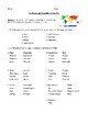 Continents: Introduction, Test, or Homework Printable with Detailed Answer Key