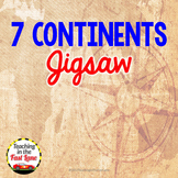 Continents Jigsaw Activity