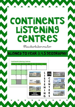 Continents Listening Centres